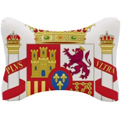 Coat Of Arms Of Spain Seat Head Rest Cushion by abbeyz71