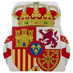 Coat Of Arms Of Spain Car Seat Velour Cushion
