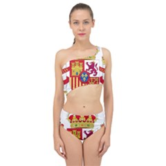 Coat Of Arms Of Spain Spliced Up Two Piece Swimsuit