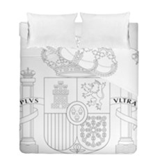 Coat Of Arms Of Spain Duvet Cover Double Side (full/ Double Size) by abbeyz71