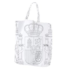 Coat Of Arms Of Spain Giant Grocery Tote by abbeyz71