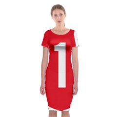 New Zealand State Highway 1 Classic Short Sleeve Midi Dress by abbeyz71