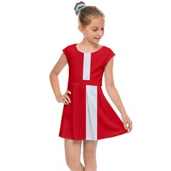 New Zealand State Highway 1 Kids Cap Sleeve Dress by abbeyz71