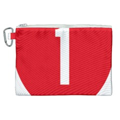 New Zealand State Highway 1 Canvas Cosmetic Bag (xl) by abbeyz71