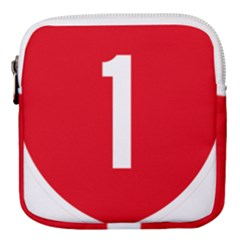 New Zealand State Highway 1 Mini Square Pouch by abbeyz71