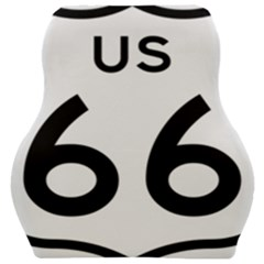Route 66 Car Seat Velour Cushion  by abbeyz71