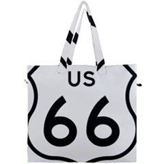 Route 66 Canvas Travel Bag by abbeyz71