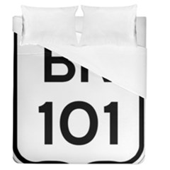 Brasil Br 101 Transcoastal Highway Duvet Cover (queen Size) by abbeyz71