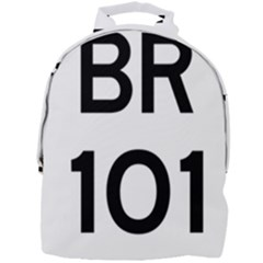 Brasil Br 101 Transcoastal Highway Mini Full Print Backpack by abbeyz71