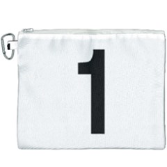Tj¨?evegur 1 (route 1) Hringvegur (ring Road) Canvas Cosmetic Bag (xxxl) by abbeyz71