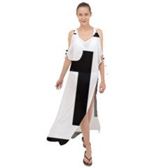 Tj¨?evegur 1 (route 1) Hringvegur (ring Road) Maxi Chiffon Cover Up Dress