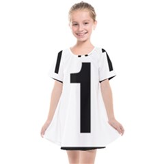 Tj¨?evegur 1 (route 1) Hringvegur (ring Road) Kids  Smock Dress