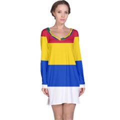 Druze Flag  Long Sleeve Nightdress