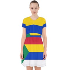 Druze Flag  Adorable In Chiffon Dress