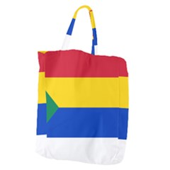 Druze Flag  Giant Grocery Tote