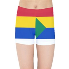Druze Flag  Kids Sports Shorts