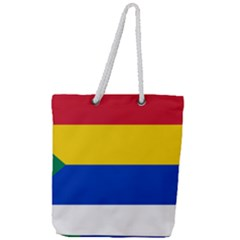 Druze Flag  Full Print Rope Handle Tote (large) by abbeyz71