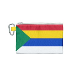 Druze Flag  Canvas Cosmetic Bag (small)