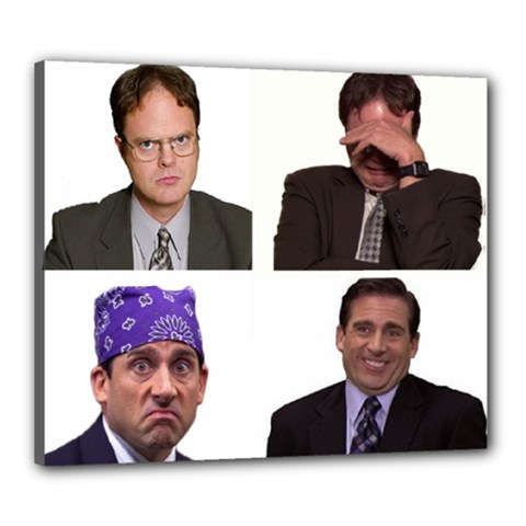 The Office Tv Show Canvas 24  X 20  (stretched) by digitalartjunkie
