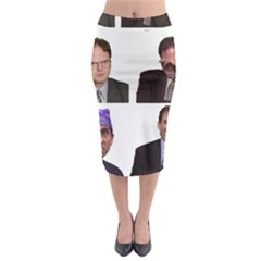 The Office Tv Show Midi Pencil Skirt by digitalartjunkie