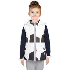 The Office Tv Show Kid s Hooded Puffer Vest by digitalartjunkie