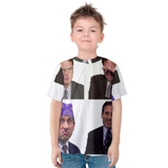 The Office Tv Show Kids  Cotton Tee by digitalartjunkie
