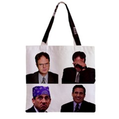 The Office Tv Show Zipper Grocery Tote Bag by digitalartjunkie