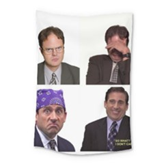 The Office Tv Show Small Tapestry by digitalartjunkie