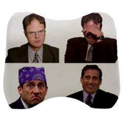 The Office Tv Show Velour Head Support Cushion by digitalartjunkie