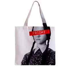 Friday, The Weekend Family Grocery Tote Bag by digitalartjunkie