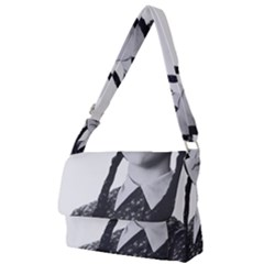 Friday, The Weekend Family Full Print Messenger Bag by digitalartjunkie