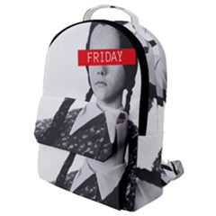 Friday, The Weekend Family Flap Pocket Backpack (small) by digitalartjunkie