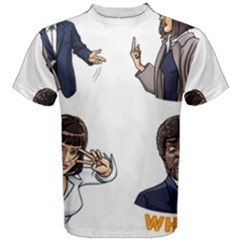 Pulp Fiction Men s Cotton Tee by digitalartjunkie