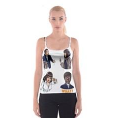 Pulp Fiction Spaghetti Strap Top by digitalartjunkie