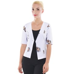Pulp Fiction Cropped Button Cardigan by digitalartjunkie