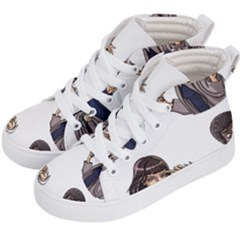 Pulp Fiction Kid s Hi Top Skate Sneakers by digitalartjunkie