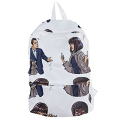 Pulp Fiction Foldable Lightweight Backpack by digitalartjunkie