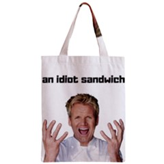 Gordon Ramsay Zipper Classic Tote Bag by digitalartjunkie