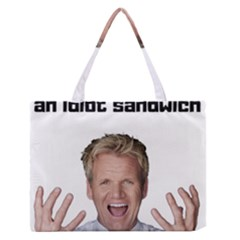 Gordon Ramsay Zipper Medium Tote Bag by digitalartjunkie