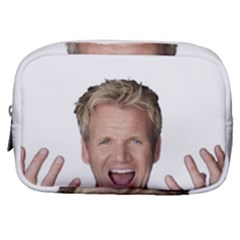 Gordon Ramsay Make Up Pouch (small) by digitalartjunkie