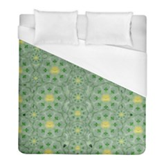 Summer Fantasy Apple Bloom In Seasonal Nature Duvet Cover (full/ Double Size) by pepitasart