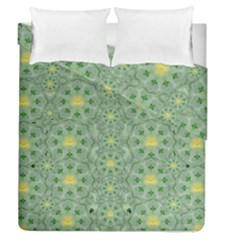 Summer Fantasy Apple Bloom In Seasonal Nature Duvet Cover Double Side (queen Size) by pepitasart
