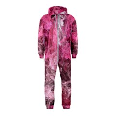 Pink Crystal Fractal Hooded Jumpsuit (kids)