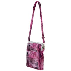 Pink Crystal Fractal Multi Function Travel Bag