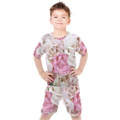 Pink And White Flowers Kid s Set