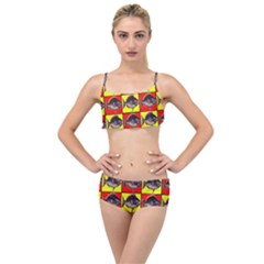 Fish 1 Layered Top Bikini Set