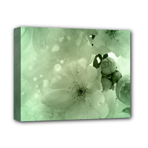 Wonderful Flowers In Soft Colors Deluxe Canvas 14  X 11  (stretched)