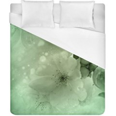 Wonderful Flowers In Soft Colors Duvet Cover (california King Size) by FantasyWorld7