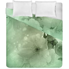 Wonderful Flowers In Soft Colors Duvet Cover Double Side (california King Size) by FantasyWorld7