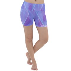 Background Light Glow Abstract Art Lightweight Velour Yoga Shorts